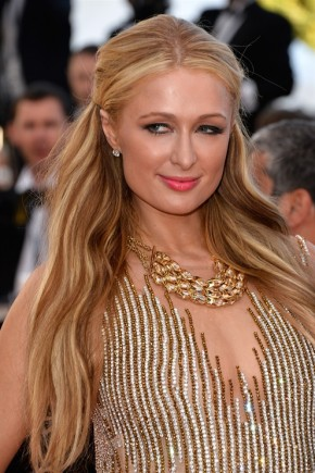 Paris Hilton hairstyles 2015 Cannes