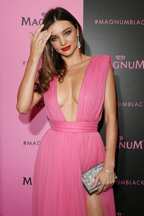 Miranda Kerr hairstyles 2015 Cannes
