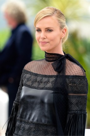 Charlize Theron hairstyles 2015 Cannes