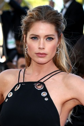 Doutzen Kroes hairstyles 2015 Cannes