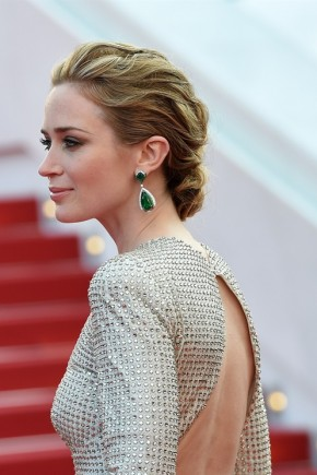 Emily Blunt hairstyles 2015 Cannes