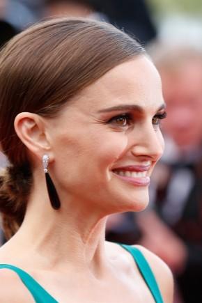 Natalie Portman hairstyles 2015 Cannes