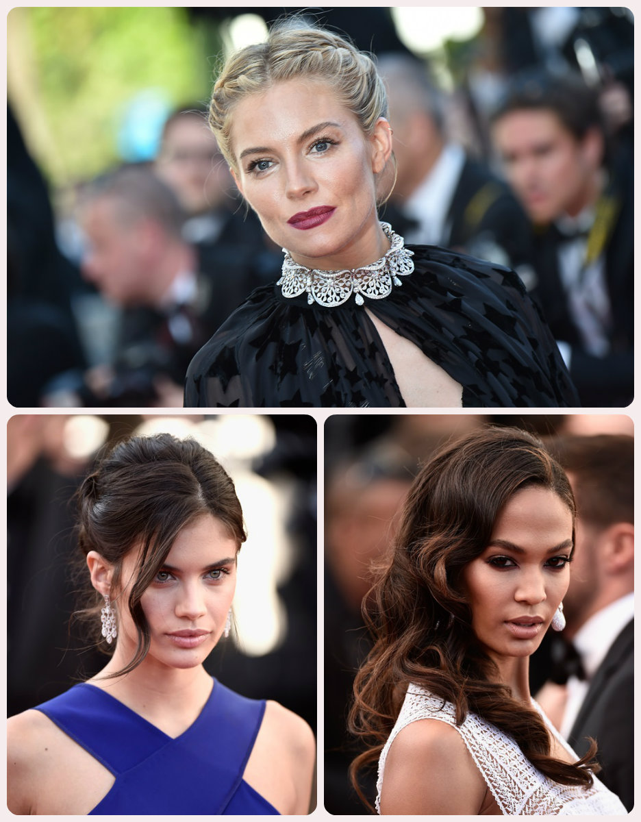 celebrity hairstyles 2015 Cannes