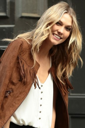Karlie Kloss celebrity summer hairstyles 2015