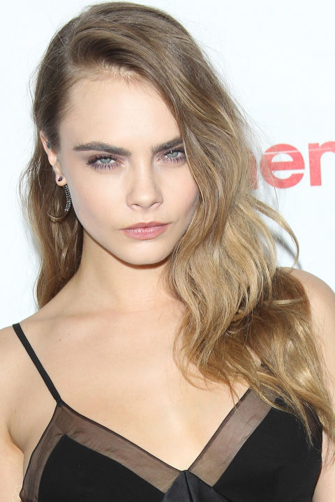 Cara Delevigne celebrity summer hairstyles 2015