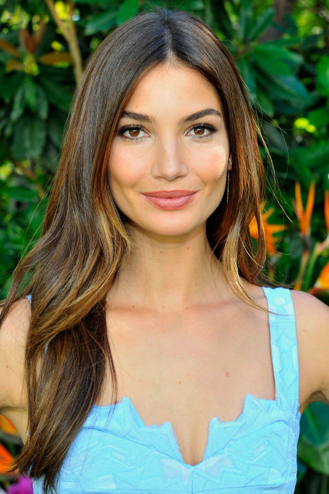 Lily Aldridge celebrity summer hairstyles 2015