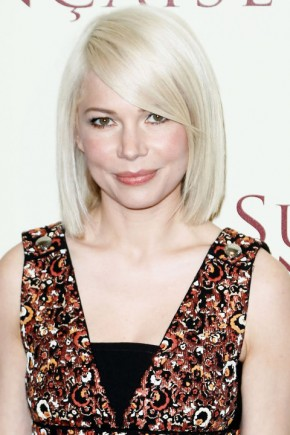 Michelle Williams celebrity summer hairstyles 2015