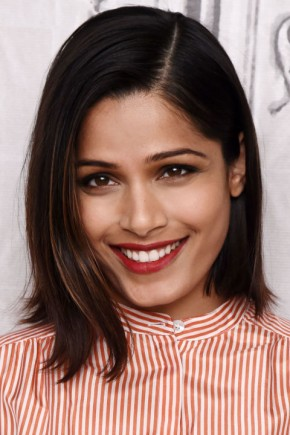 Freida Pinto celebrity summer hairstyles 2015