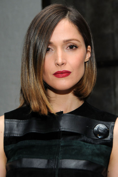 Rose Byrne celebrity summer hairstyles 2015