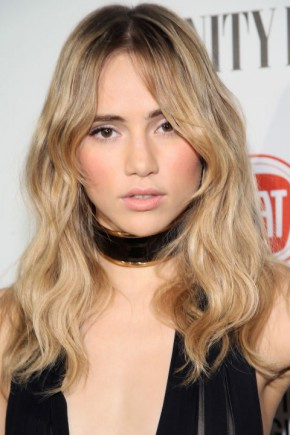 Suki Waterhouse celebrity summer hairstyles 2015