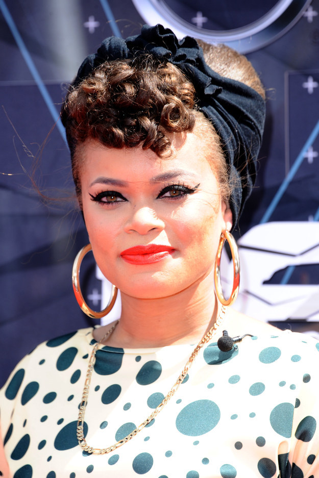 Andra Day BET awards 2015 hairstyles