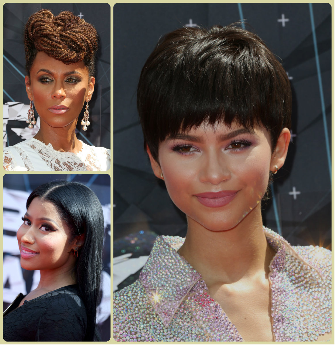 BET Awards 2015 Celebrity Hairstyles