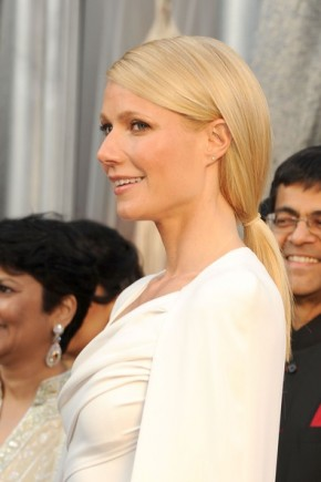 Gwyneth Paltrow Ponytail Hairstyles For Work