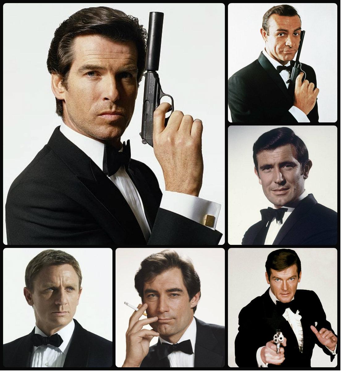 Virile James Bond Hairstyles for Men