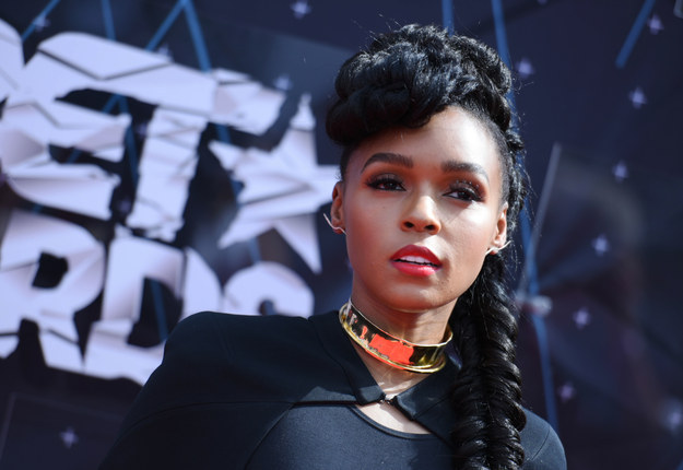 Janelle Monaé BET awards 2015 hairstyles