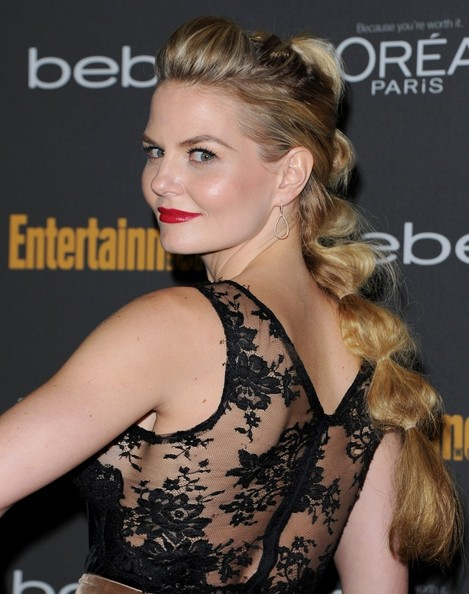 Jennifer Morrison Ponytail Hairstyles For Work 2015