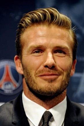 David Beckham Mens Hairstyles Summer Fall 2015