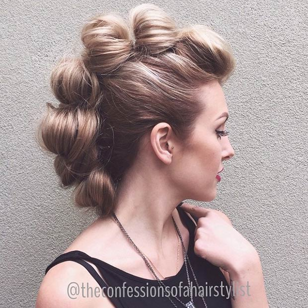 Incredible Statement Mohawk Hairstyles 2015 Hairstyles 2016 Hair Colors Short Hairstyles For Black Women Fulllsitofus