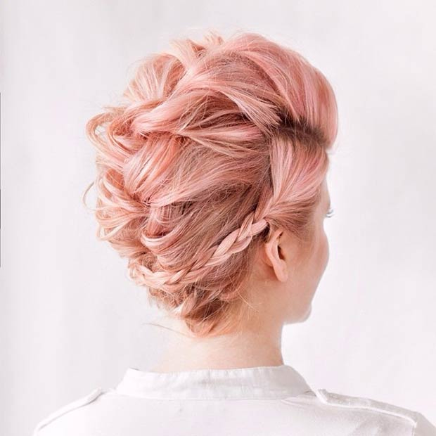 Mohawk Hairstyles  and pastel hair colors 2015