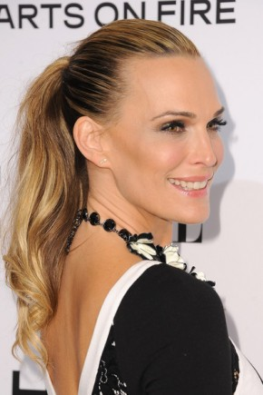 Molly Sims Ponytail Hairstyles For Work