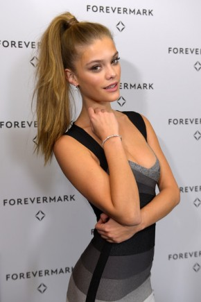 Nina Agdal Ponytail Hairstyles For Work