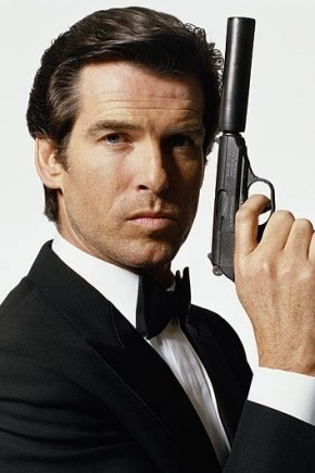 Pierce Brosnan Mens Hairstyles from James Bond