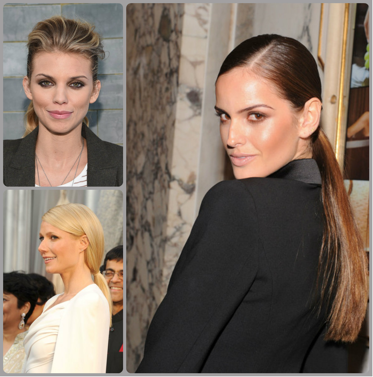 Bossy Ponytail Hairstyles for Work