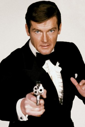 Roger Moore Mens Hairstyles from James Bond