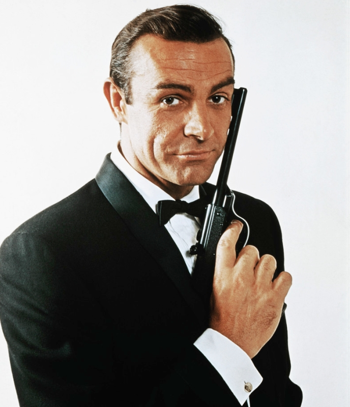 Sean Connery Mens Hairstyles from James Bond