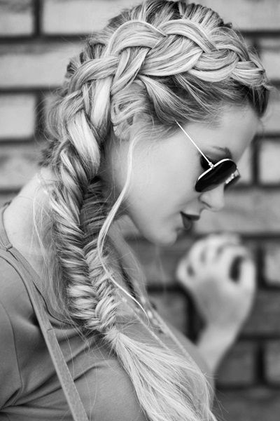 Side Braids And a Fishtail 2015
