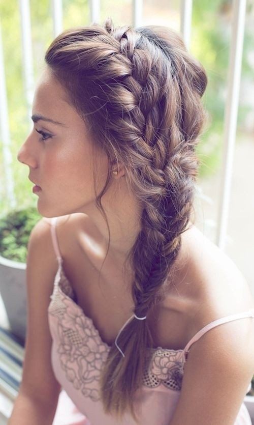 Remarkable Summer Side Braids Hairstyles 2015 Hairstyles 2016 Hair Colors Short Hairstyles For Black Women Fulllsitofus