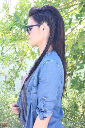 Partial Side Braids 2015 Summer