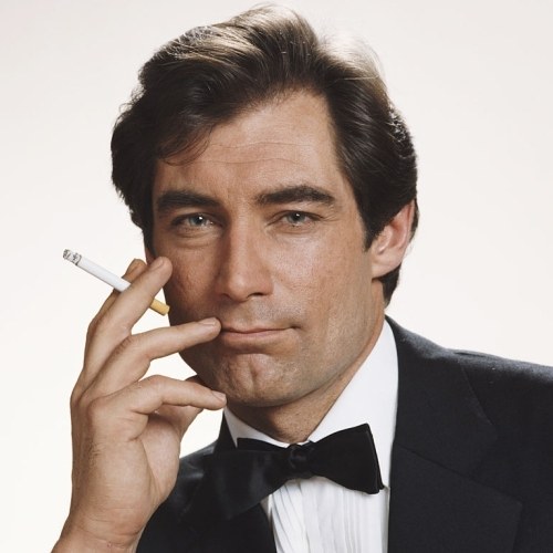 Timothy Dalton Mens Hairstyles from James Bond