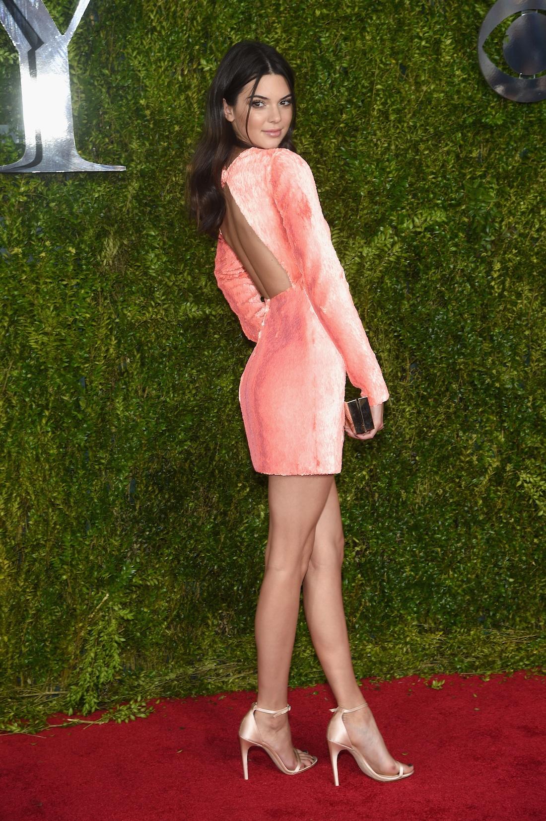 Kendall Jenner 2015 Tony Awards Hairstyles