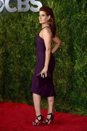 Debra Messing Tony Awards 2015 Celebrity Hairstyle