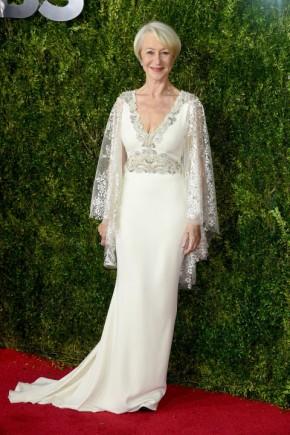 Helen Mirren Tony Awards 2015 Celebrity Hairstyles