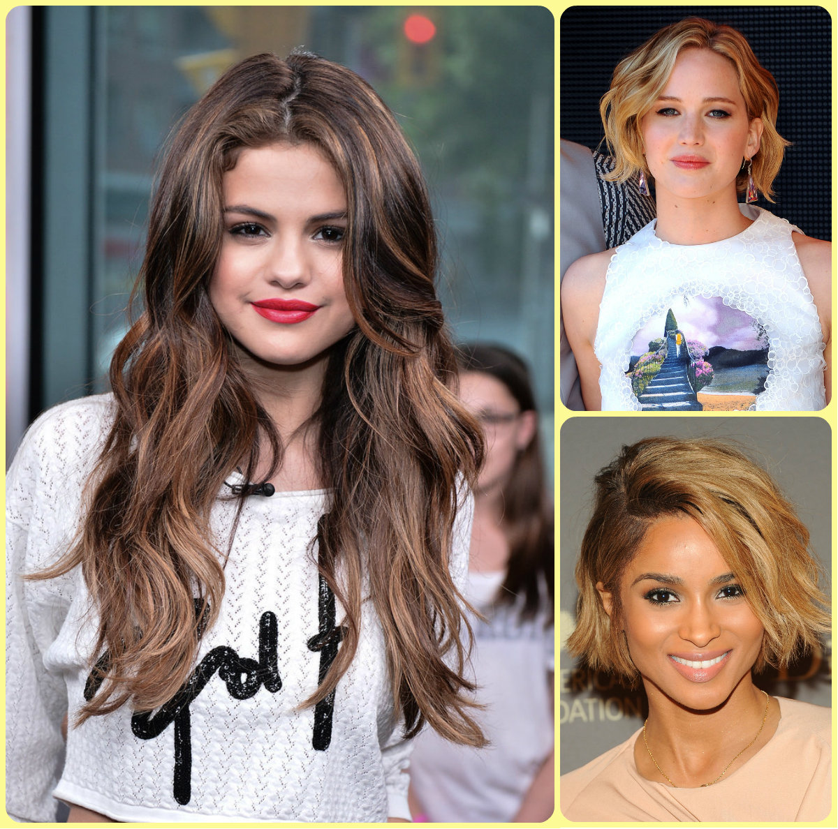 celebrity beach waves hair 2015 summer popular hairstyle