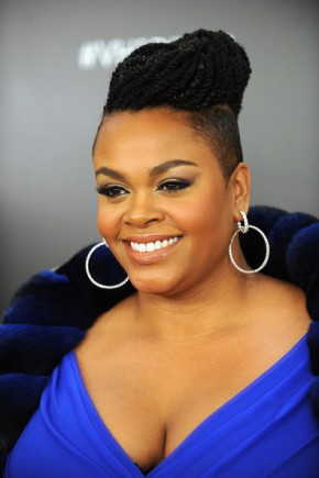 Jill Scott braided updo 2015