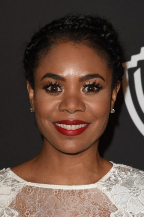 Regina Hall braided updo 2015 summer