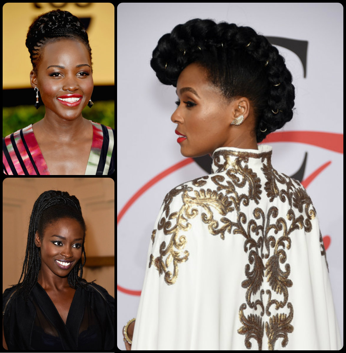 Swell Black Women Braided Updos 2015 Summer Hairstyles 2016 Hair Hairstyles For Women Draintrainus