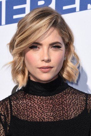 Ashley Benson short summer hairstyles 2015