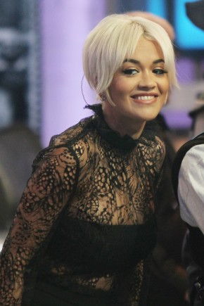 Rita Ora short summer hairstyles 2015