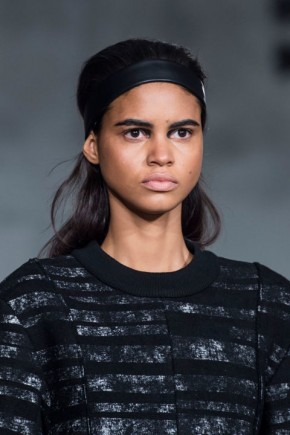 hair trends for fall 2015 at Proenza Schouler