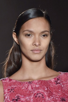 hair trends for fall 2015 at Zac Posen