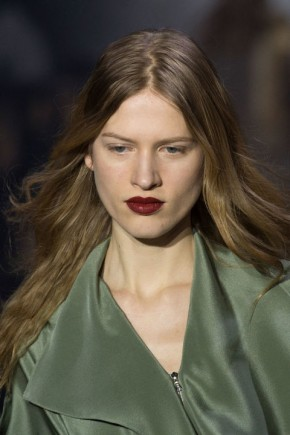 hair trends for fall 2015 at Phillip Lim