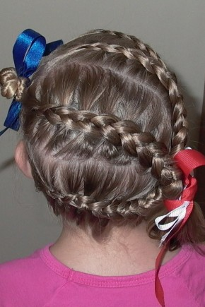horizontal braids kids hairstyles 2015