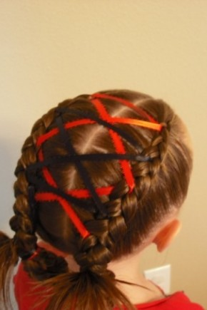 patriotic braids and stripes kids hairstyles 2015