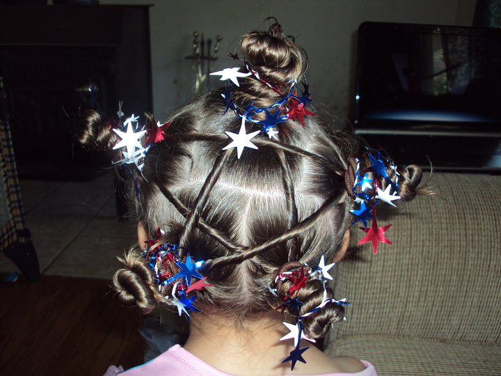 patriotic kids hairstyles 2015