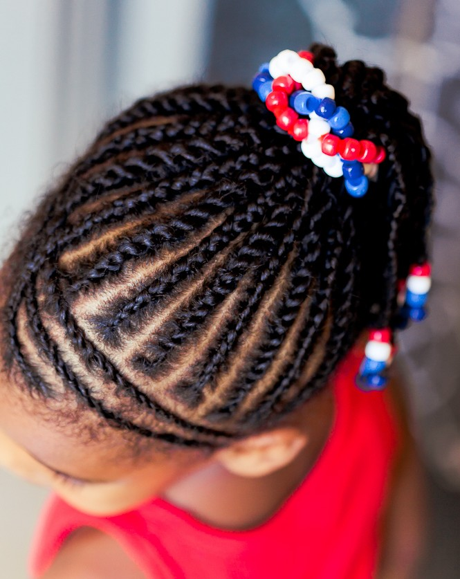 July 4th black kids hairstyles 2015