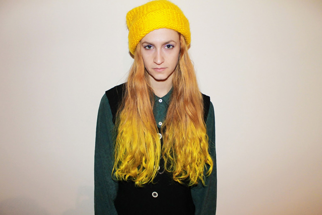 yellow ombre back to school hairstyles  2015